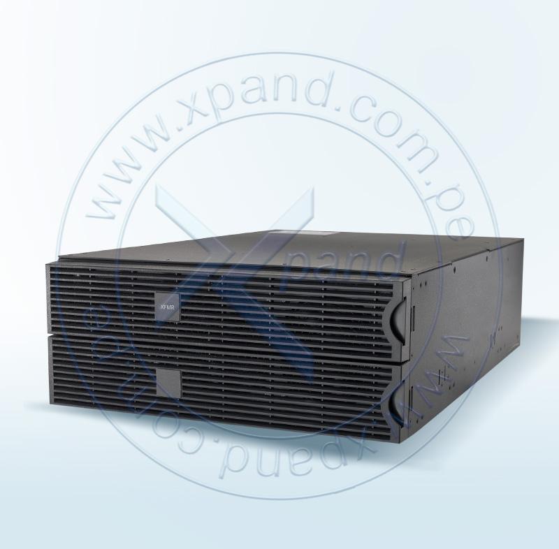 Imagen: Transformador de aislamiento APC APTF10KW01, 10kVA, 60A, 220V.