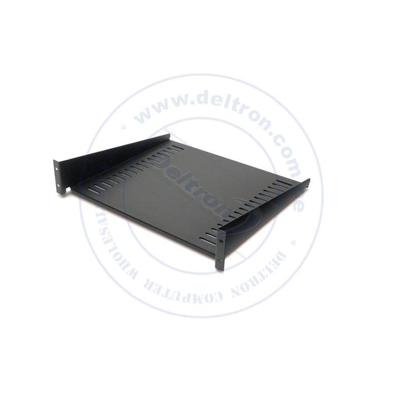 Imagen: Plataforma metálica APC AR8105BLK, para entornos de Racks, Negro, soporta 23Kg o 50 Lb.