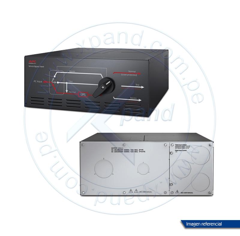 Imagen: APC SBP20KP Service Bypass Panel 200/208/230/240V 125A HW Input/Output.