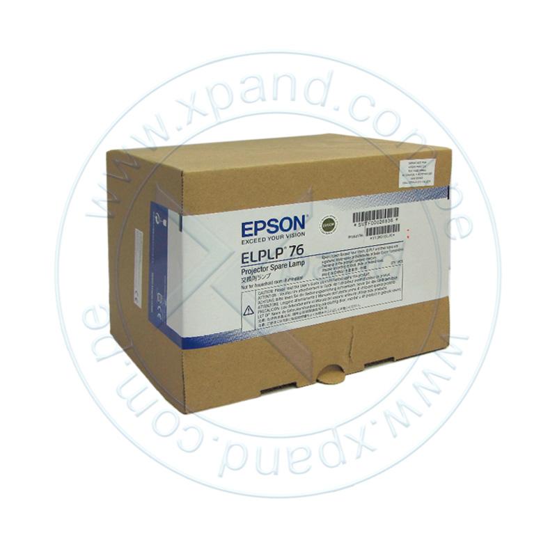 Imagen: Lámpara de reemplazo Epson ELPLP76, para proyectores PowerLite.