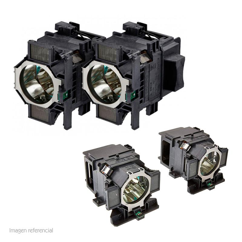Imagen: Lampara de reemplazo para proyectores EPSON ELPLP82, dual.