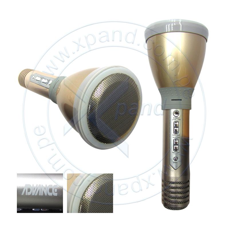 Imagen: Micrófono inalámbrica Advance KM660, Bluetooth, Eco Sound, Altavoz integrado, 3W, 1200 mAh