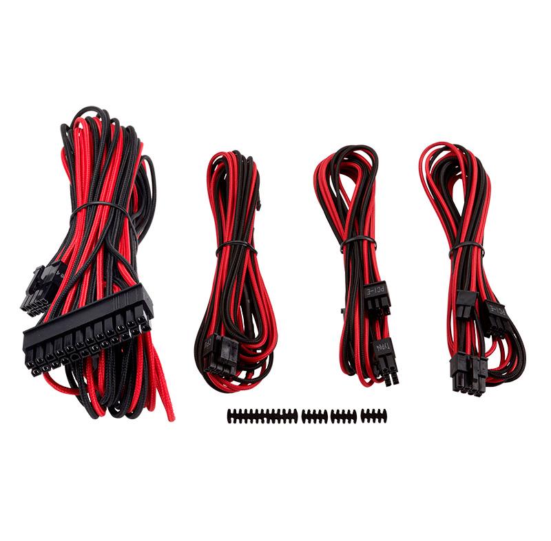 Imagen: Kit de cables individuales Corsair Starter Tipo 4 (Gen. 3), para PSU Series RMi, RMx, SF