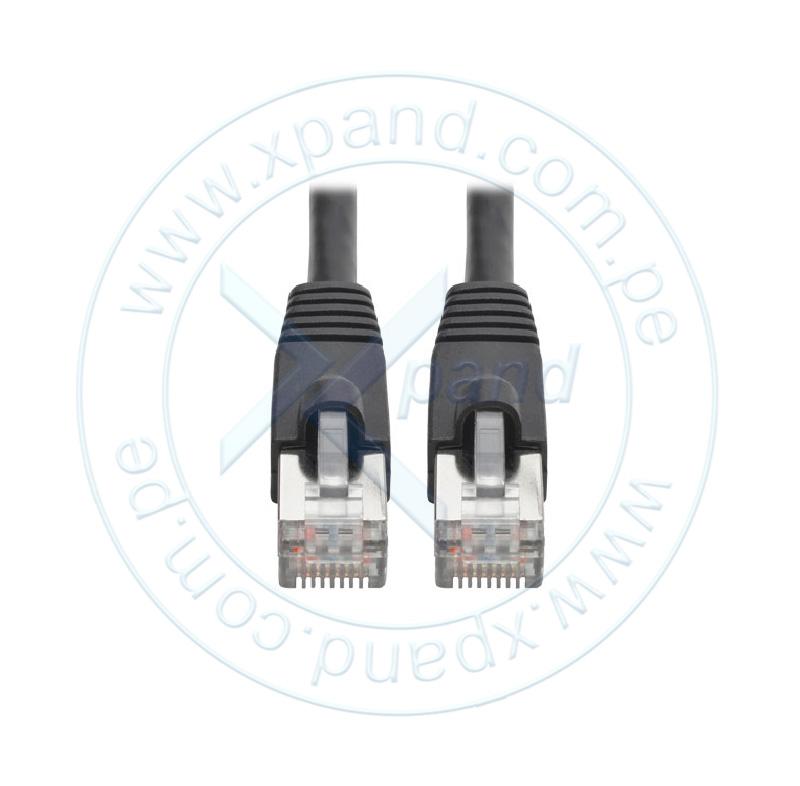 Imagen: Cable Patch Aumentado Tripp-Lite Snagless Cat6a 10G (RJ-45 M/M), Negro, 2.13 mts.