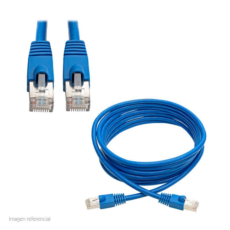 Imagen: Cable Patch Aumentado Tripp-Lite Snagless Cat6a 10G (RJ-45 M/M), Azul, 3.05 mts.