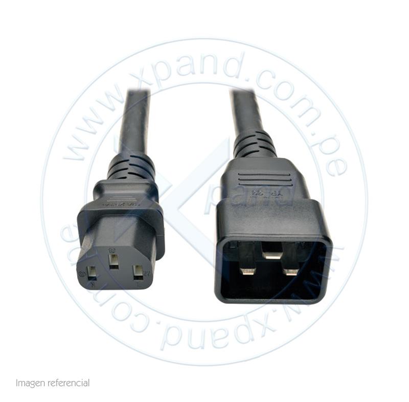 Imagen: Cable poder de PDU Tripp-Lite P032-007, 250V, 15A, 12AWG, C13 a C20, 2.13 mts.