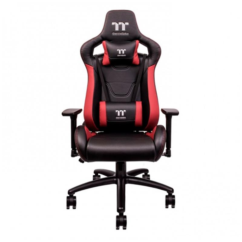 Imagen: Thermaltake - Silla para juegos U Fit, Color Negro / Rojo.