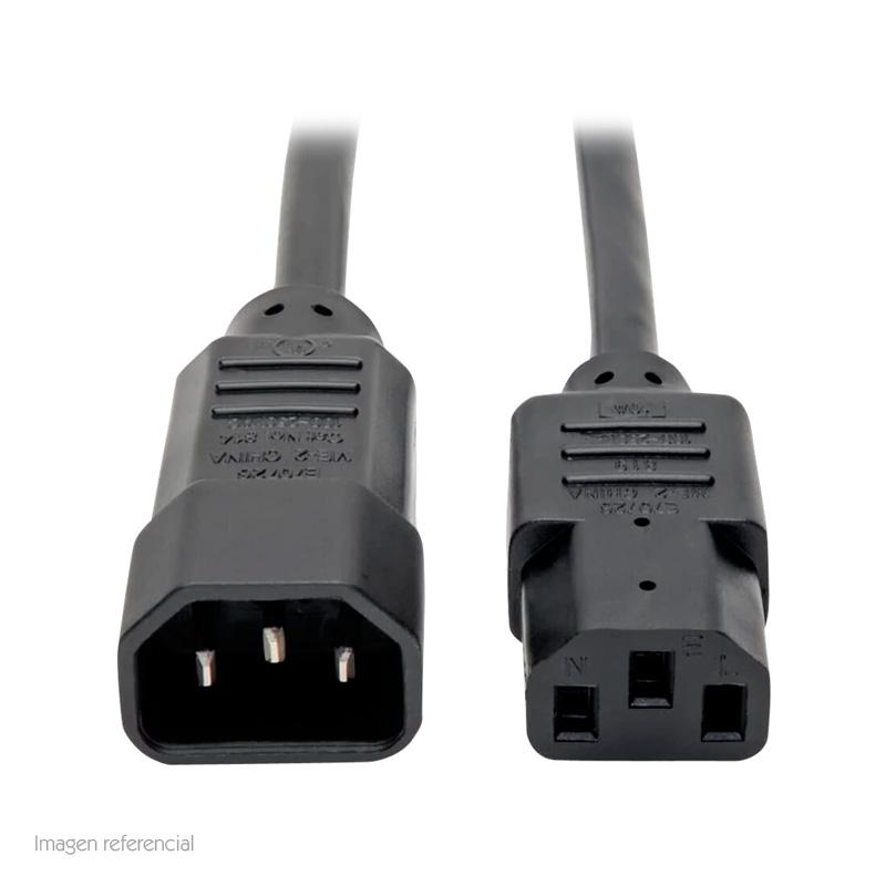 Imagen: Cable de Alimentación Tripp-Lite P004-003 para PDU, C13 a C14, 10A, 250V, 18 AWG, 91.4 cm