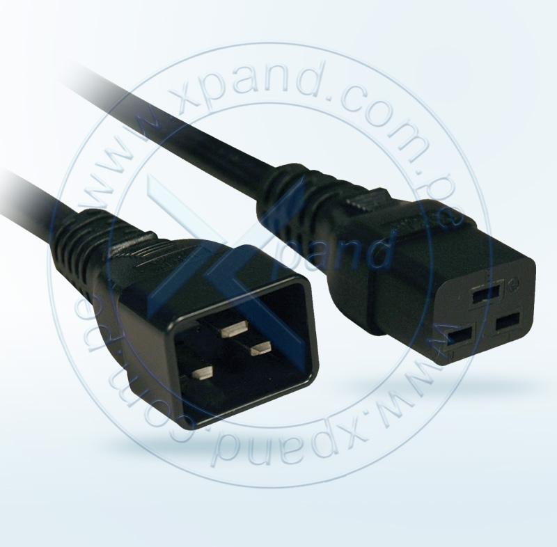 Imagen: Cable de alimentación Tripp-Lite P036-006, 12AWG, 20A, 250V, 1.83mts.