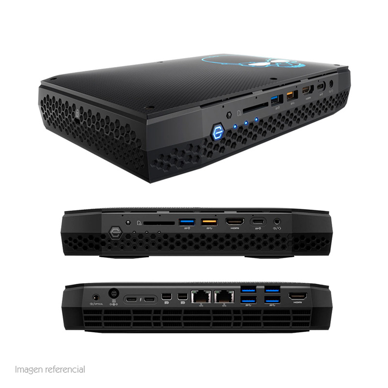Imagen: Mini Barebone Intel NUC8I7HNK1, Intel Core i7-8705G 3.10GHz, DDR4, USB 3.1.