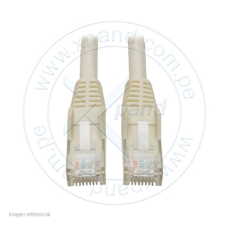 Imagen: Tripp-Lite Cable Patch Moldeado Snagless Cat6 Gigabit (RJ45 M/M), Blanco, de 0.91m.