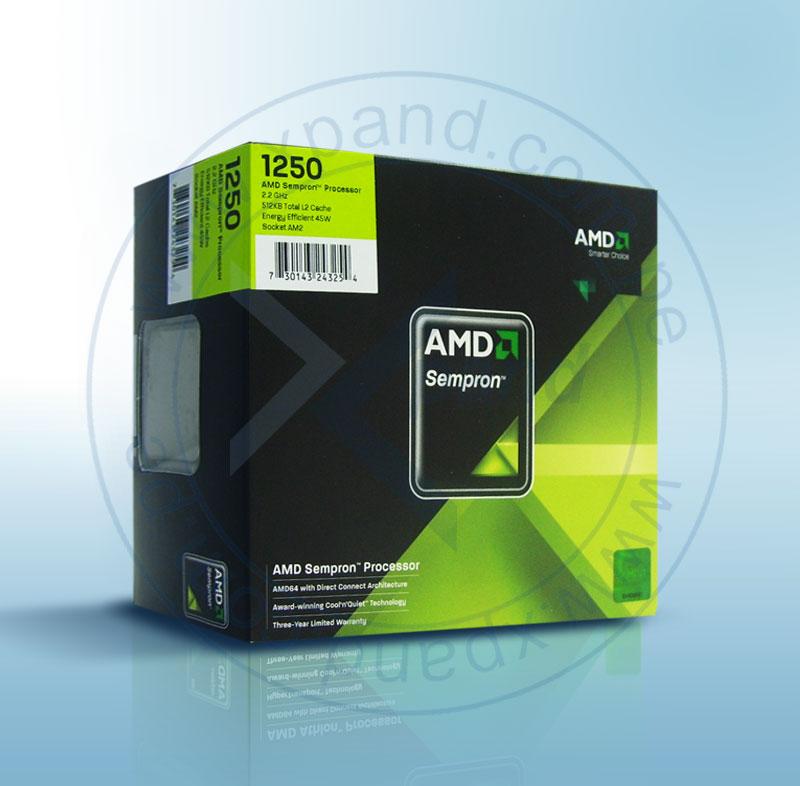 Imagen: CPU AMD SEMPRON SAM2; AMD-ADVANCED MICRO DEVICE; PROC AMD SEMP LE-1250 SKTAM2