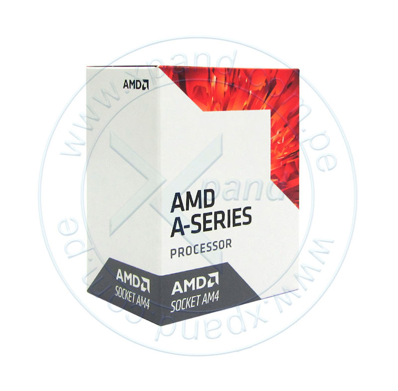 Imagen: Procesador AMD A6-9500, 3.50GHz, 1MB L2, 8 Cores, AM4, 28nm, 65W, caja.