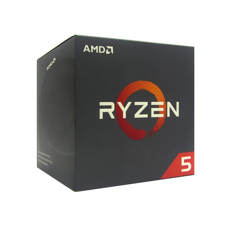 Imagen: Procesador AMD Ryzen 5 2600, 3.40GHz, 16MB L3, 6 Core, AM4, 12nm, 65W.