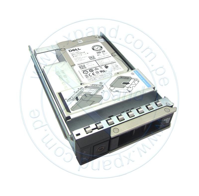 "Imagen: Disco duro Dell 400-ATIJ, 300GB, SAS 12 Gbps, 15 000 RPM, 2.5"", Hot-Plug, 512n."