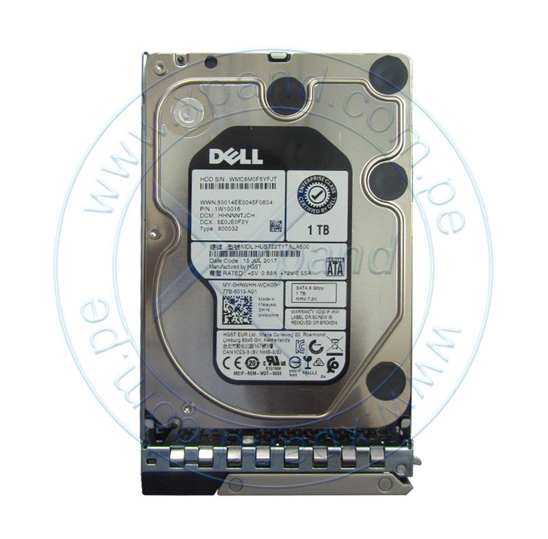 """Imagen: Disco duro Dell 400-ATJJ, 1TB, SATA 6.0 Gb/s, 7200 RPM, 3.5"""", Hot-Swap, 512n."""