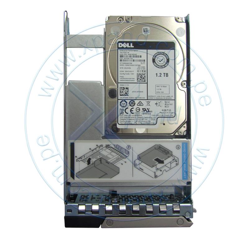 "Imagen: Disco duro Dell 400-ATJM, 1.2 TB, SAS 12.0 Gb/s, 10 000 RPM, 2.5"", Hot-Swap, 512n."