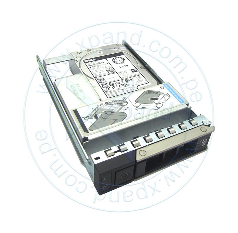"Imagen: Disco duro Dell 400-ATJS, 1.8TB, SAS 12 Gbps, 10 000 RPM, 2.5"", Hot-Plug, 512n."