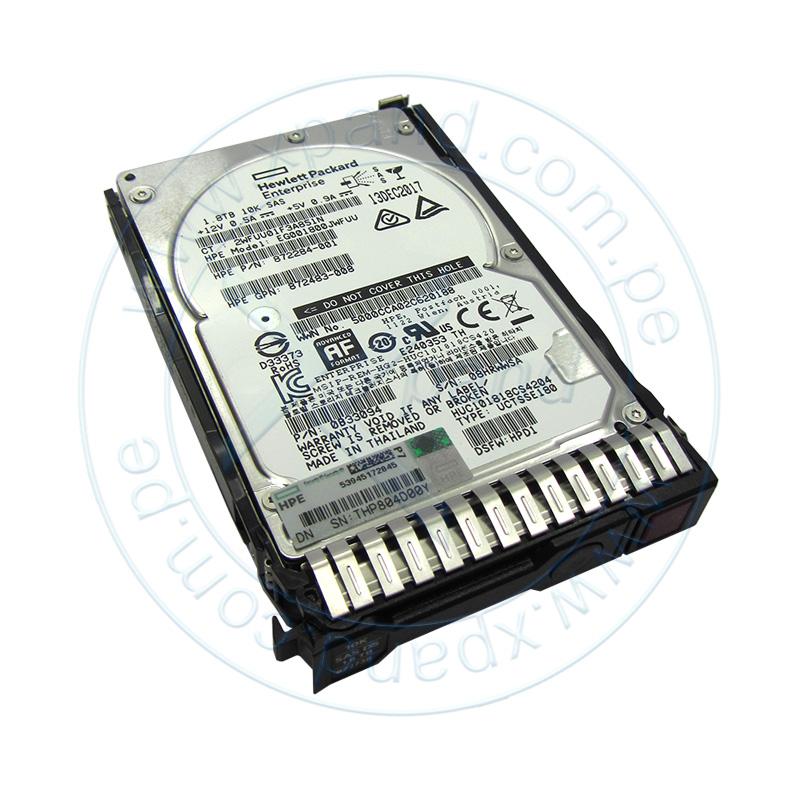 """Imagen: Disco duro HPE 872481-B21, 1.8 TB, SAS 12.0 Gb/s, 10 000 RPM, 2.5""""."""