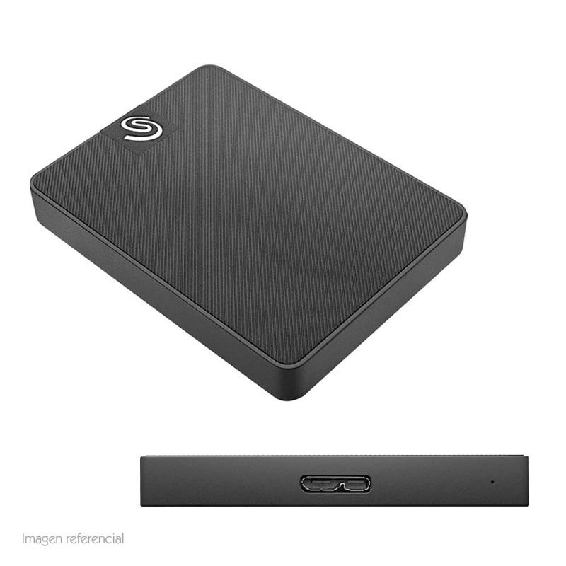 Imagen: Disco duro externo Solido Seagate Expansion STJD500400, 500GB, USB 3.0 / 2.0.