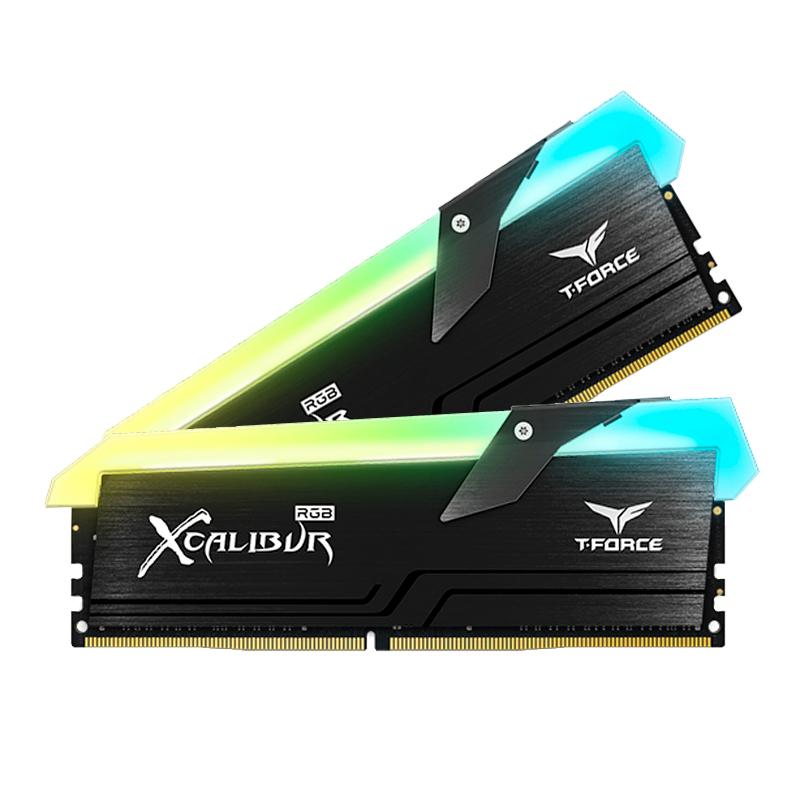 Imagen: MEM DDR4 3600 PC4-28800; TEAMGROUP; MEM 16G (2X8) XCALIBUR RGB 3.6