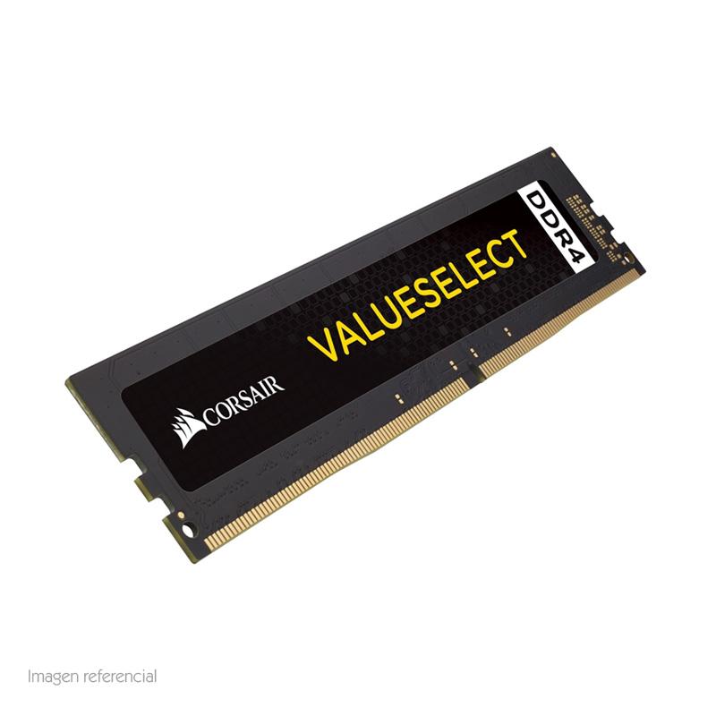 Imagen: Memoria Corsair, 4GB, DDR4, 2400 MHz, PC4-19200, CL-15, 1.2V.