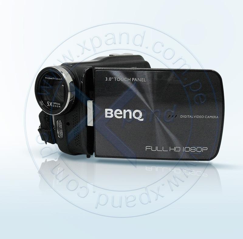 "Imagen: Filmadora BenQ M23, 5Mpx, zoom 5x, LCD 3.0"" Touch, Negro, estuche."