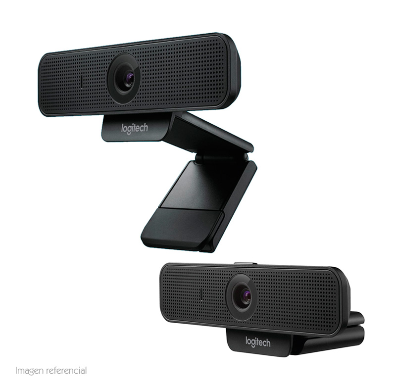 Imagen: Cámara web Logitech C925E, hasta 1080p HD, microfono, USB 2.0, enfoque automatico.