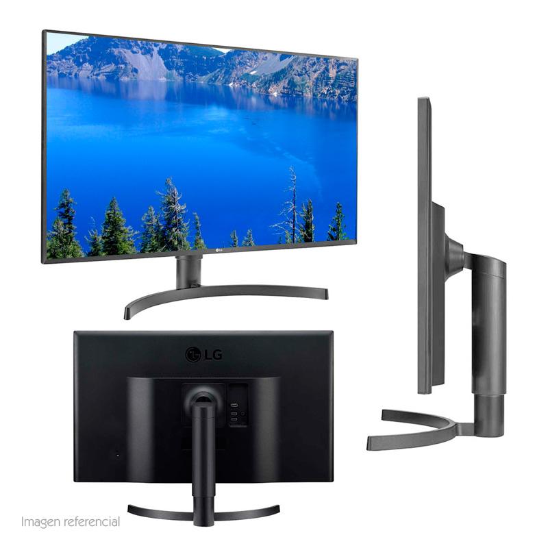 """Imagen: Monitor LG 32UK550, 31.5"""", 3840x2160, 4K UHD, HDMI / DP / Audio."""