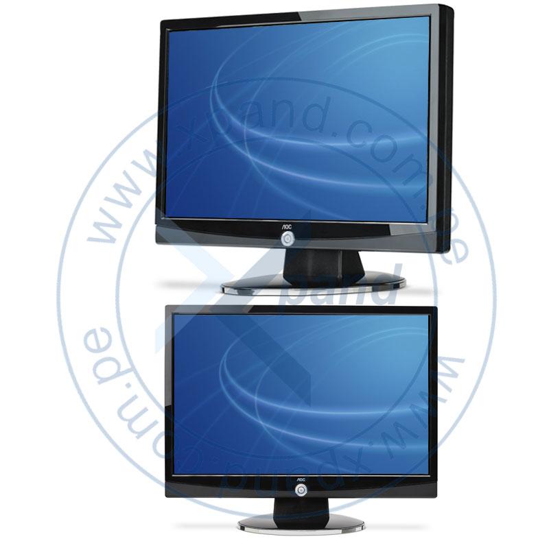"""Imagen: MONITORES TFT 15"""" - 19""""; AOC; MON AOC LCD 19 917SW NG"""