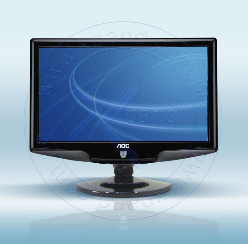 "Imagen: MONITORES TFT 15"" - 19""; AOC; MON AOC LCD 18.5"