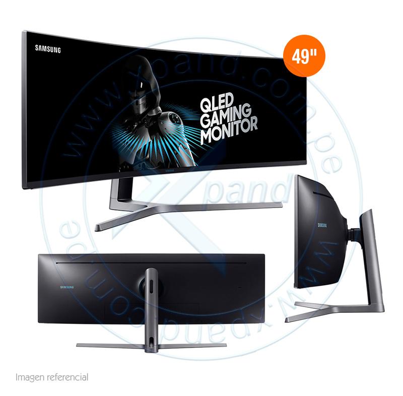"""Imagen: Monitor Curvo Gaming Samsung C49HG90DML, 49"""", 3840 x 1080, QLED."""