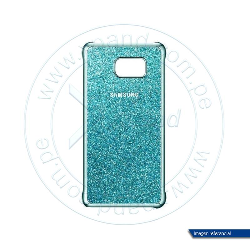 Imagen: Protector de celular Samsung Glitter Cover, para Galaxy Note 5, Blue.