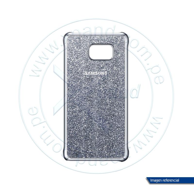 Imagen: Protector de celular Samsung Glitter Cover, para Galaxy Note 5, Silver.