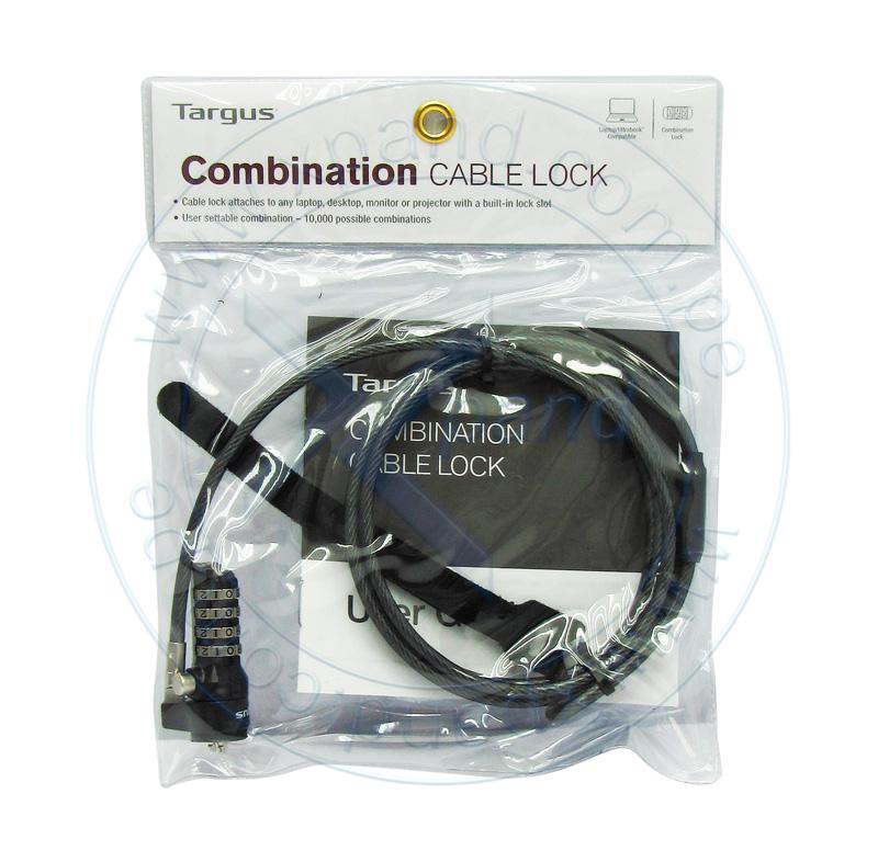 Imagen: Cable de seguridad Targus Lock Combinaton, para notebook.