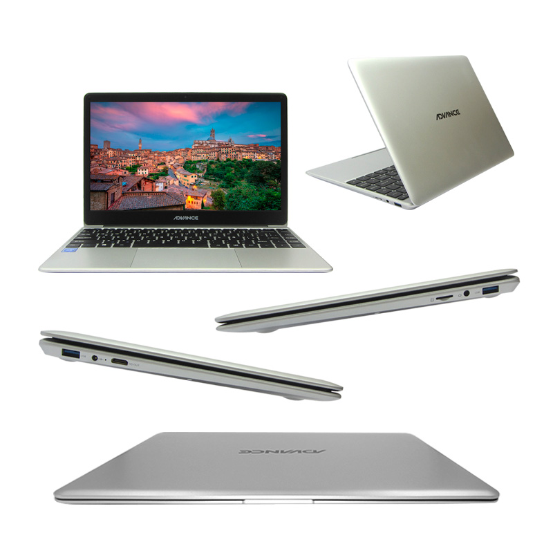 "Imagen: Notebook Advance NV6648, 14"" FHD, Intel Celeron N3350 1.1GHz, 4GB, 32GB."