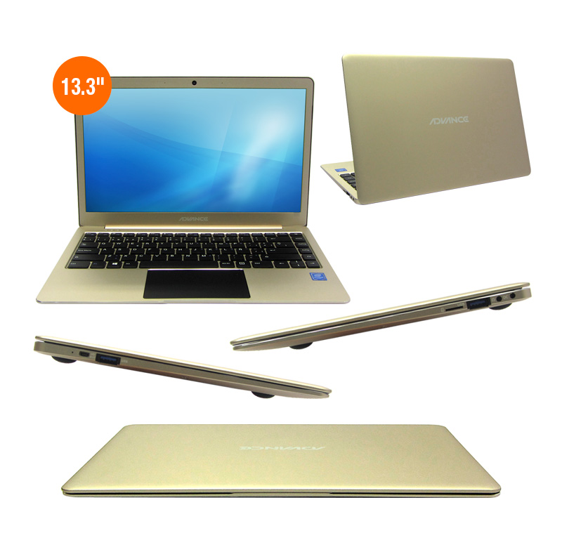 "Imagen: Notebook Advance NV7547, 13.3"" FHD, Intel Celeron N3350 1.10GHz, 3GB, 32GB."