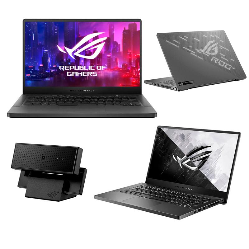 "Imagen: Notebook ASUS ROG Zephyrus G14 14"" IPS QHD, AMD Ryzen 9 4900HS 3.0GHz, 16GB DDR4"