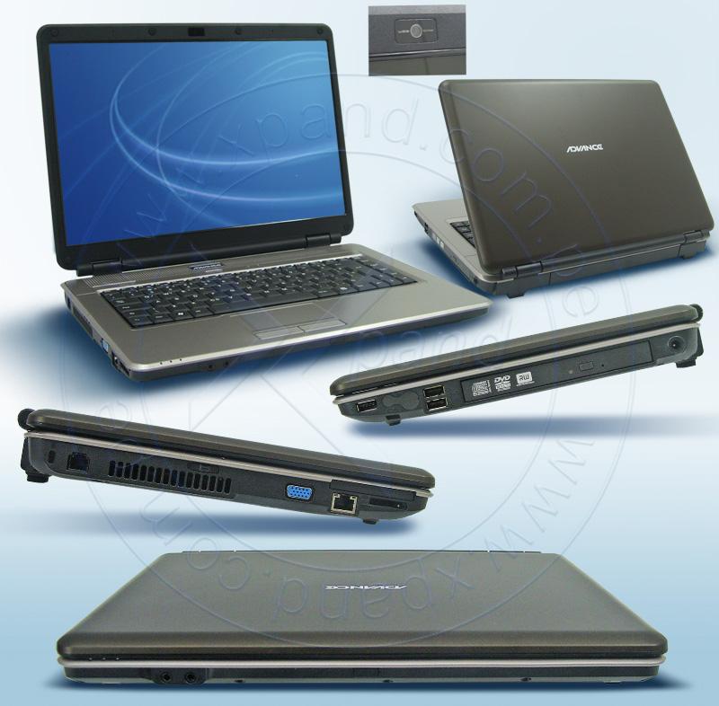 Imagen: BAREBONES PARA NOTEBOOK; ADVANCE COMPUTER CORP; BB CPL KSW91 15.4