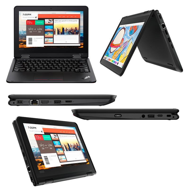 "Imagen: Notebook Lenovo ThinkPad Yoga 11e (5th Gen) 11.6"" HD IPS 10-point Multi-Touchscreen"