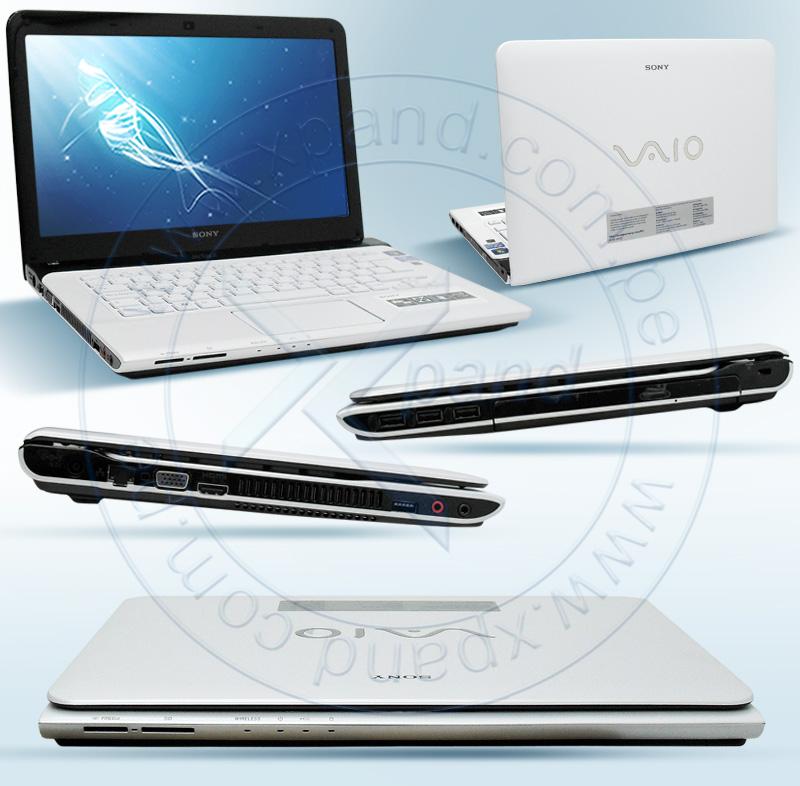 "Imagen: Notebook Sony VAIO SVE14125CLW, VAIO 14"" LED , 1366x768, Intel Core i5-3210M 2.50 GHz, 4GB"