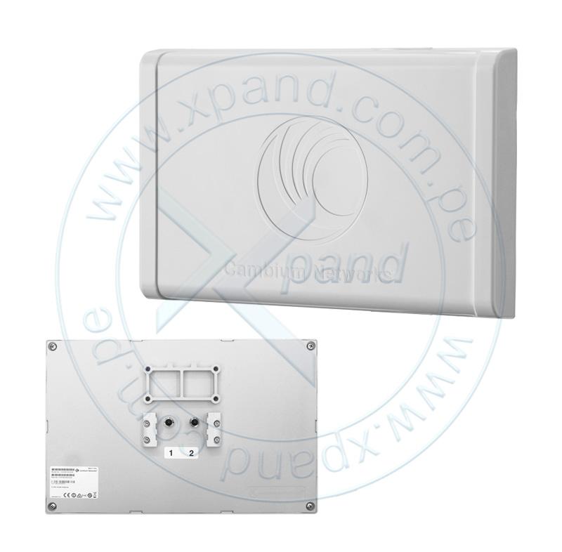 Imagen: Antena Smart Cambium Nekworks ePMP 2000, 5 GHz, 2 x 50 ohm, RP SMA, Protector UV ABS.