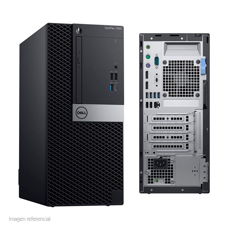 Imagen: Computadora DELL Optiplex 7060 Mini Tower, Intel Core i7-8700 3.20 GHz, 4GB DDR4, 2TB SATA