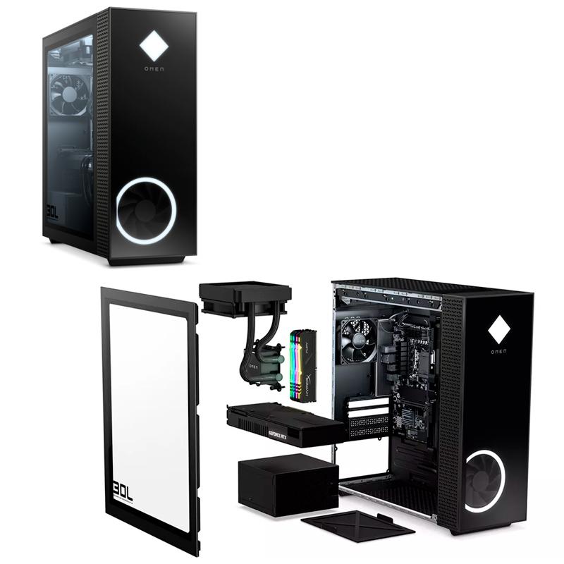 Imagen: Computadora HP Desktop Gamer OMEN 30L GT13-0000la Core i7-10700K 3.80 / 5.10GHz, 8GB DDR4
