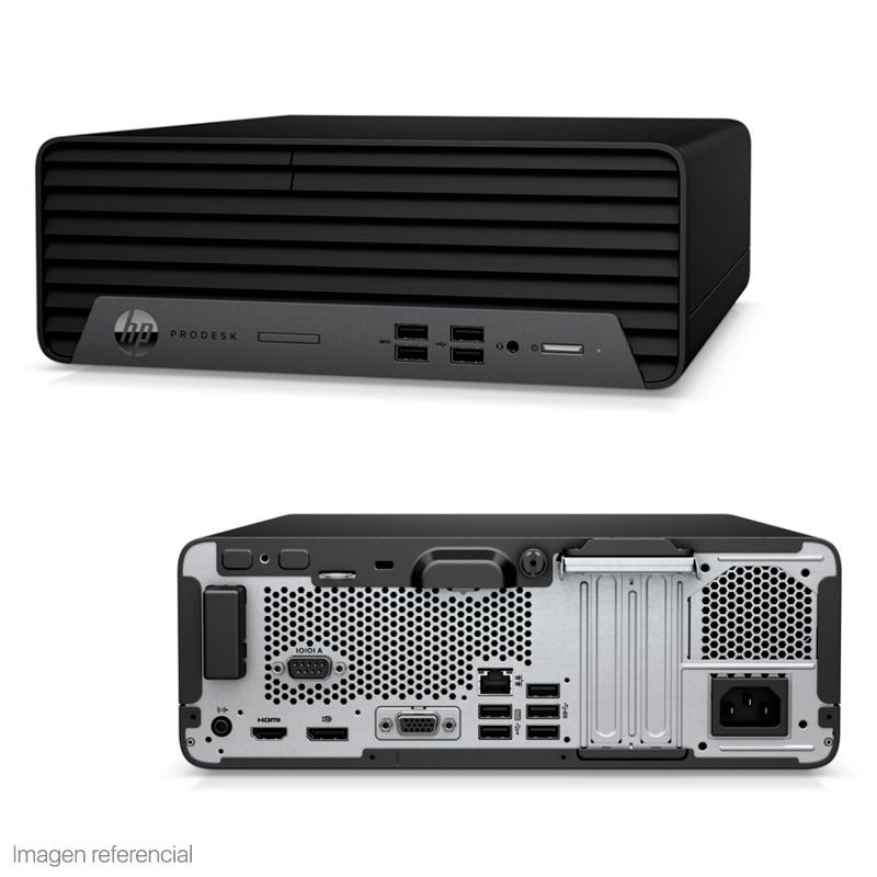 Imagen: Computadora HP Prodesk 400 G7 SFF, Intel Core i7-10700 2.90 / 4.8 GHz, 8GB DDR4, 1TB SATA.