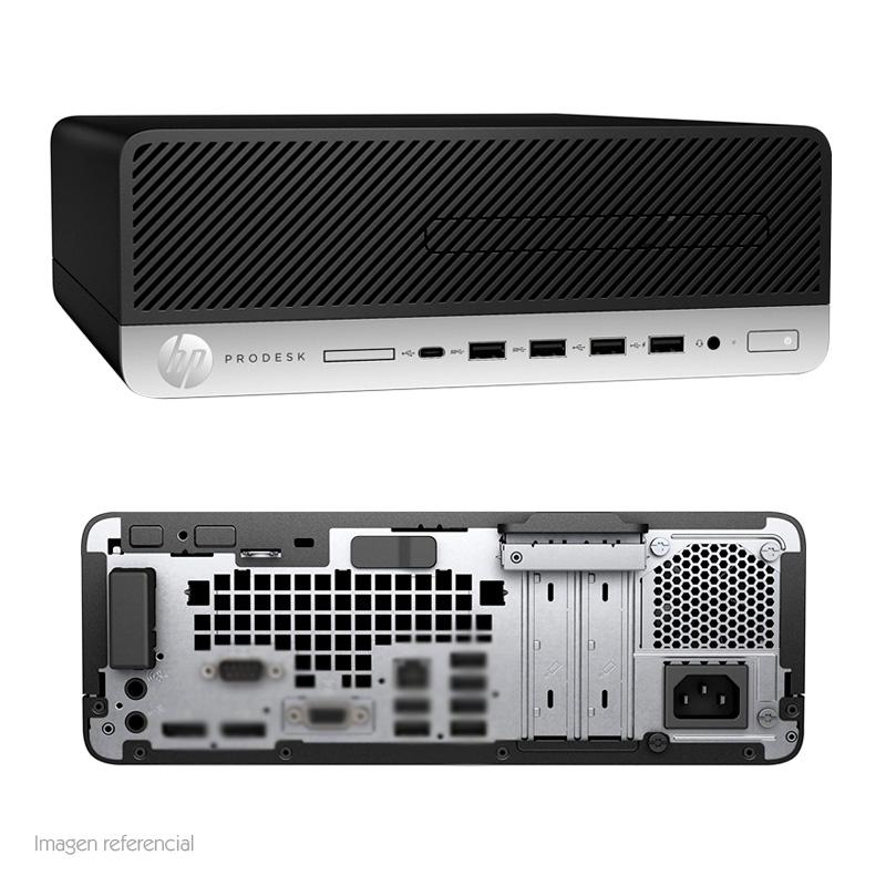 Imagen: Computadora HP Prodesk 600 G4 SFF, Intel Core i7-8700 3.20GHz, 8GB DDR4, 1TB SATA.