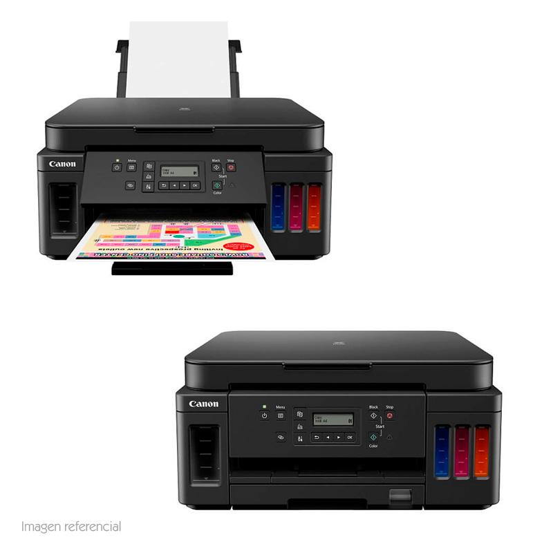 Imagen: Multifuncional de tinta continua Canon Pixma G6010, imprime/escanea/copia, WiFi/USB/LAN.