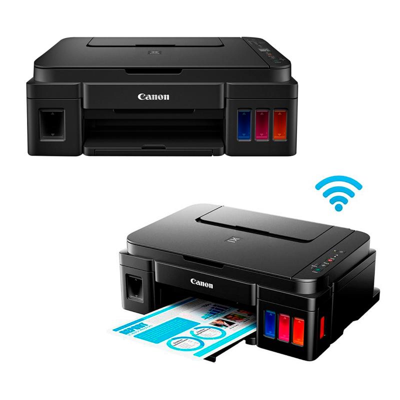 Imagen: Multifuncional de tinta continua Canon Pixma G3101, imprime/escanea/copia, USB / WiFi.