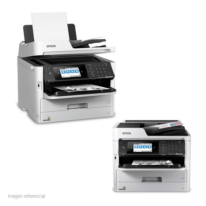 Imagen: Multifuncional de tinta Epson WorkForce Pro WF-M5799, imprime/escanea/copia/fax, WiFi.