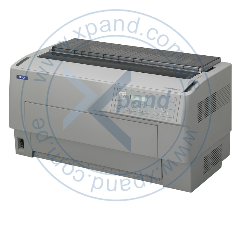 Imagen: Impresora matricial Epson DFX-9000, matriz de 9 pines, velocidad maxima 1550 cps (10cpp).